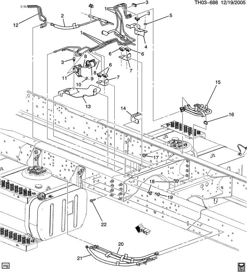 Gmc C8500 Pump  Fuel Pump  Pump  Fuel  Elec  03 163