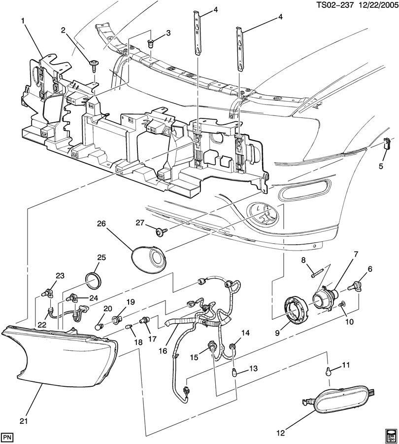 Buick Rainier Lamp  Parking And Turn Signal  Lamp  Cor