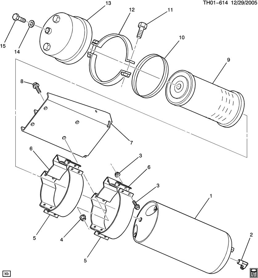auxiliary oil filter asm