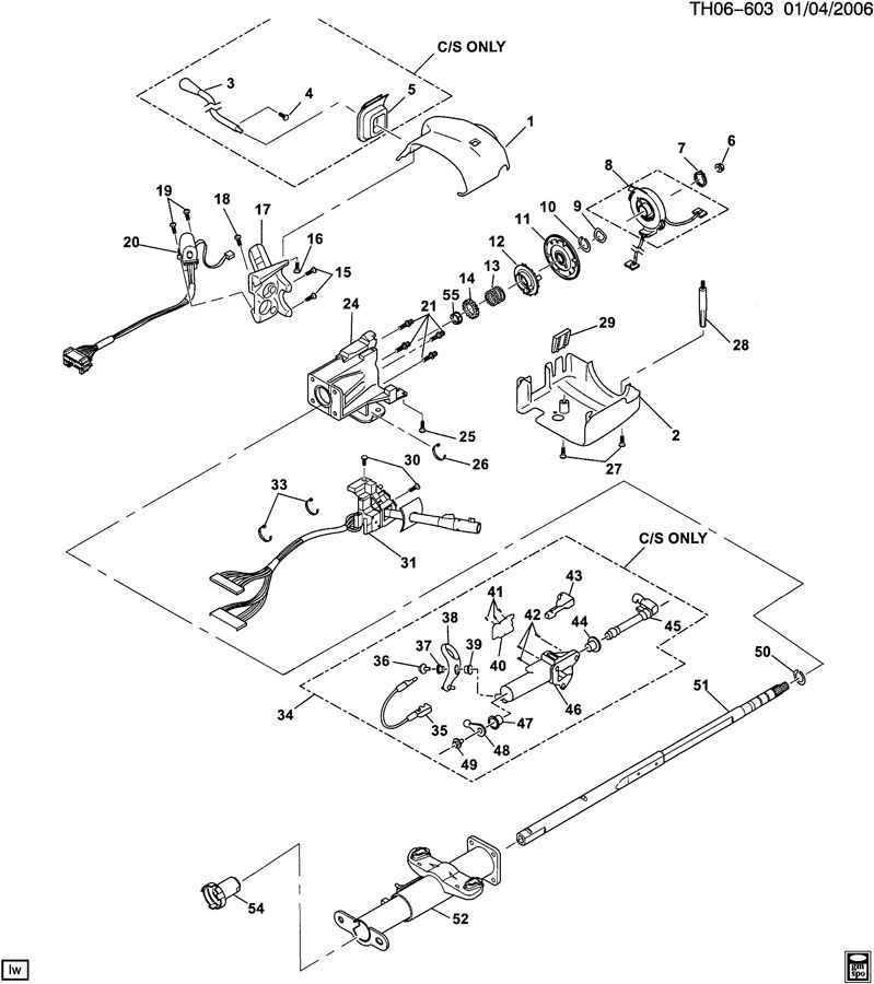 1999 Chevy C6500 Wiring Diagram