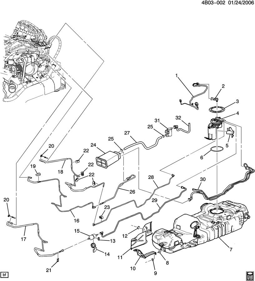 2004 Buick Rendezvous Wiring Harness from parts.nalleygmc.com