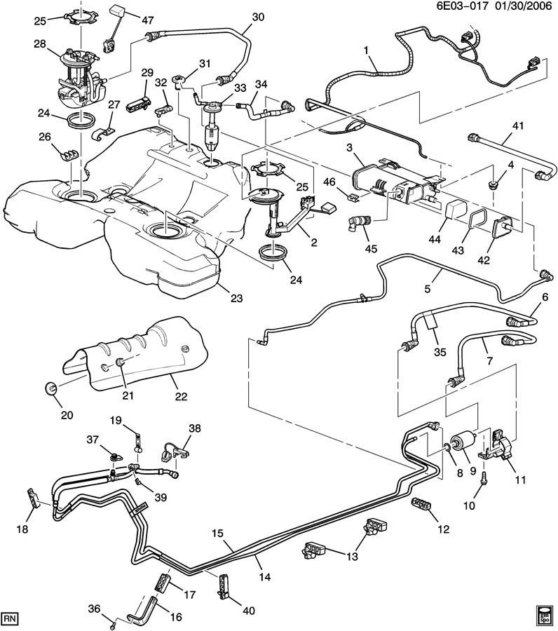 2003 Cadillac Cts Throttle Position Sensor Wiring from parts.nalleygmc.com