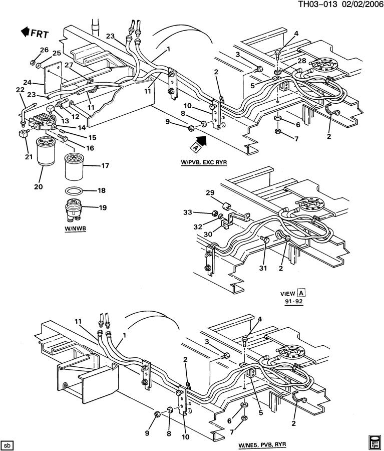Gmc T6500 Fuse Box - Wiring Diagrams List
