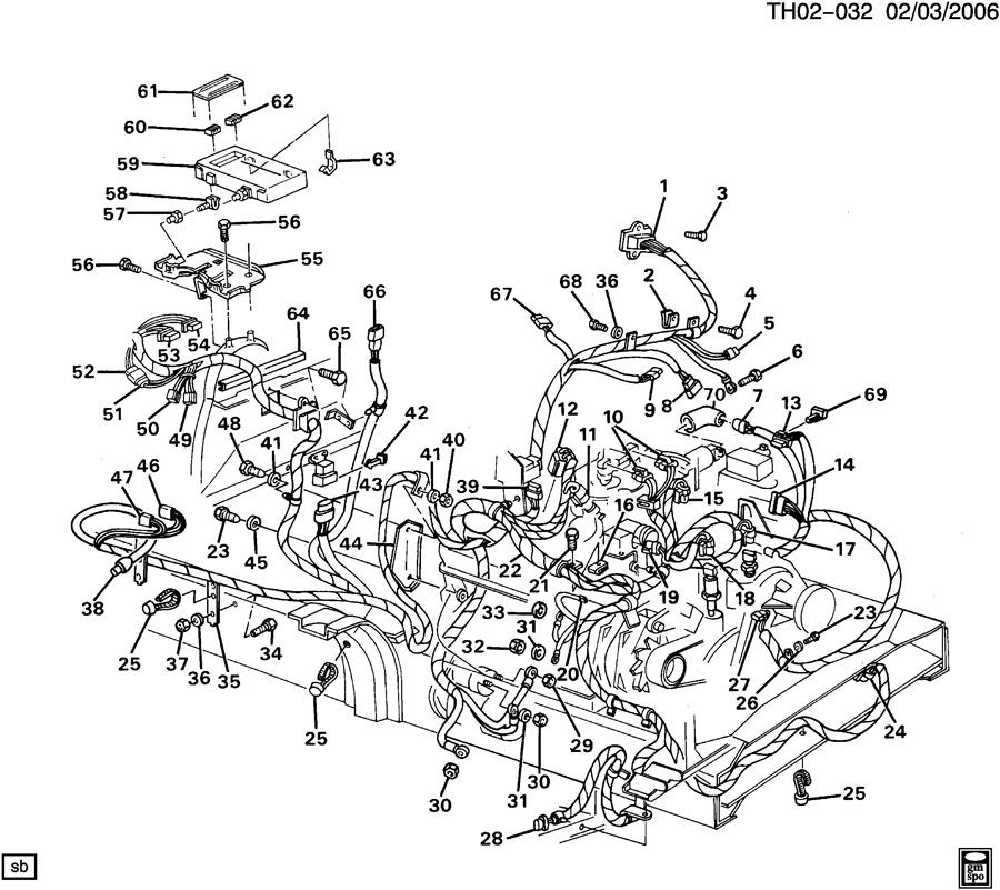 Wiring Harness Engine