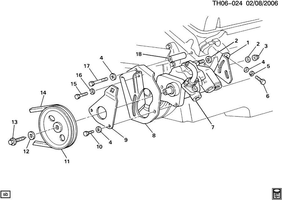 12388957 gm pump power steering pump p s pump asms. Black Bedroom Furniture Sets. Home Design Ideas