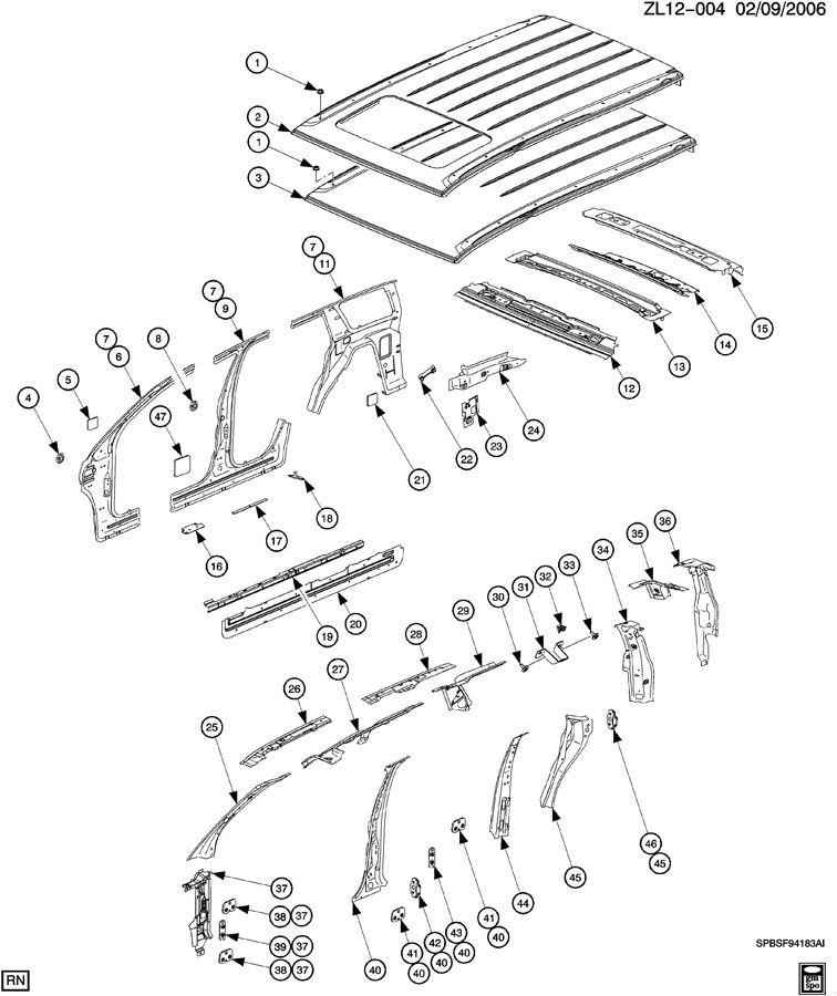 sheet metal  body