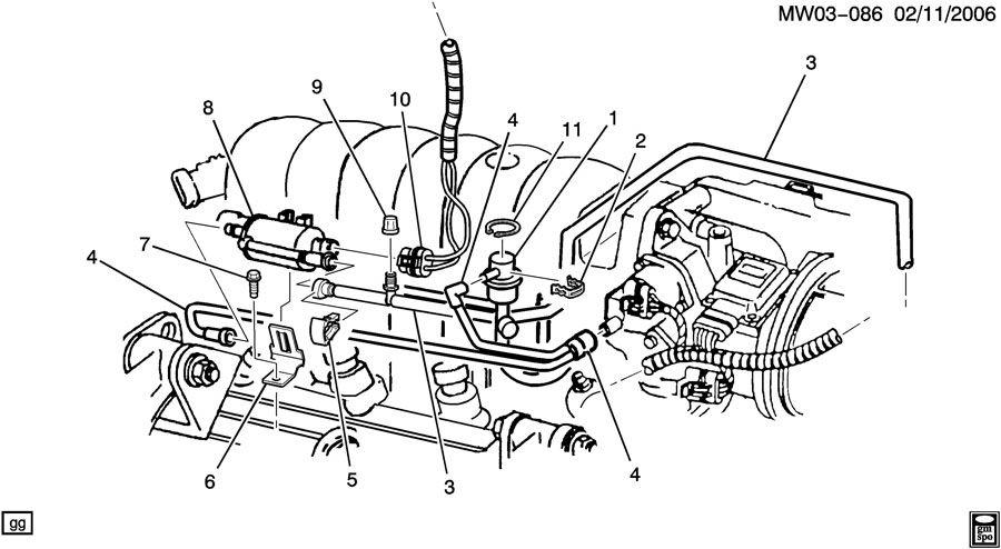 ShowAssembly on V6 Engine Cooling System Diagram