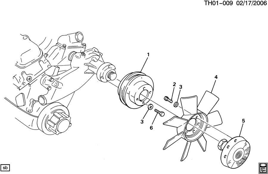 15964643 gm blade engine cooling bladeswauto mwe. Black Bedroom Furniture Sets. Home Design Ideas