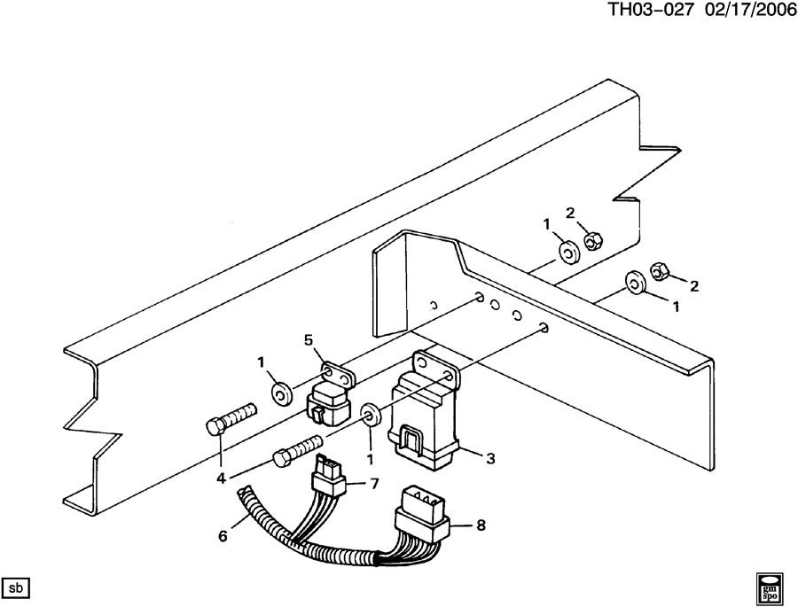 1991 fuel control module  u0026 relay