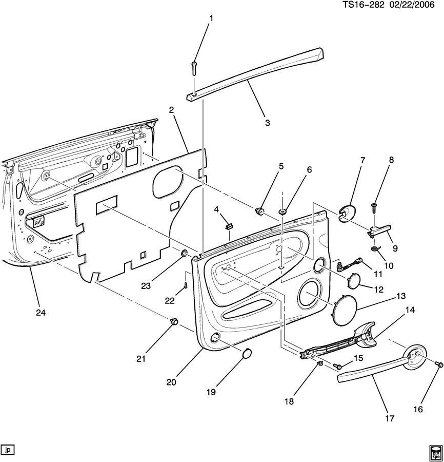 Chevrolet Ssr Door Trim Side Front
