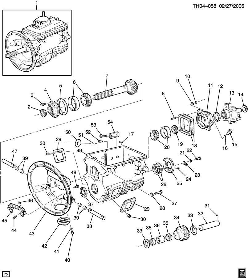 eaton fuller transmission parts description