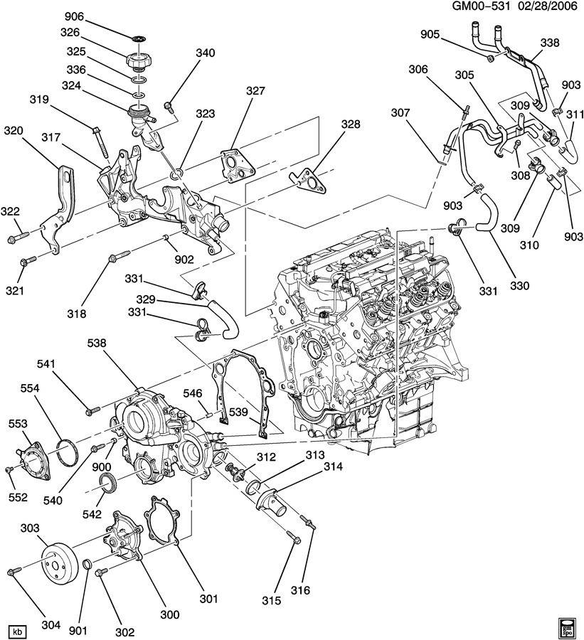 2011 chevrolet impala engine asm