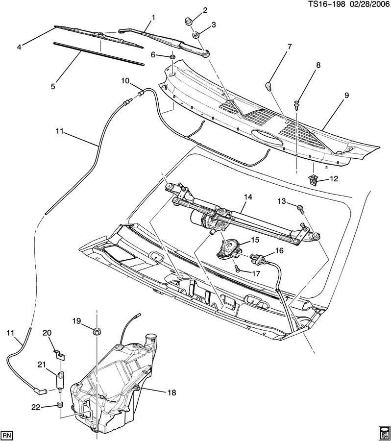 Chevrolet Trailblazer Arm  Windshield Wiper Transmission  Arm  Wsw  Armwsw