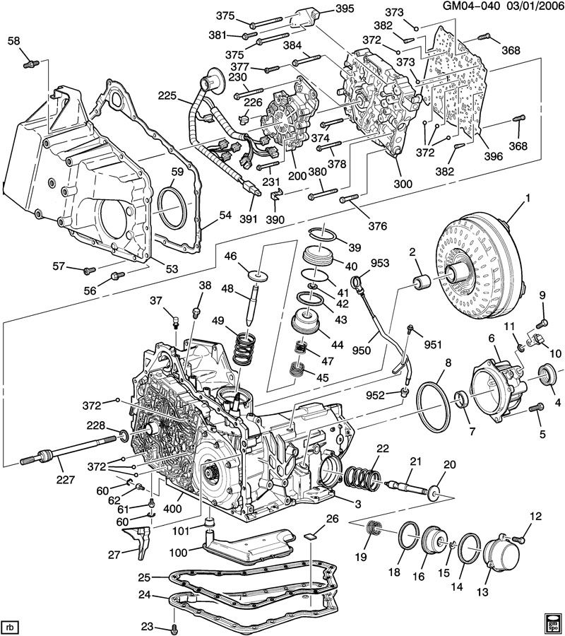 41607 Location Of Transmission Speed Sensor