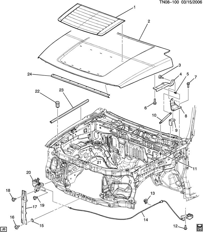 hummer h3 v8 engine cover - page 2