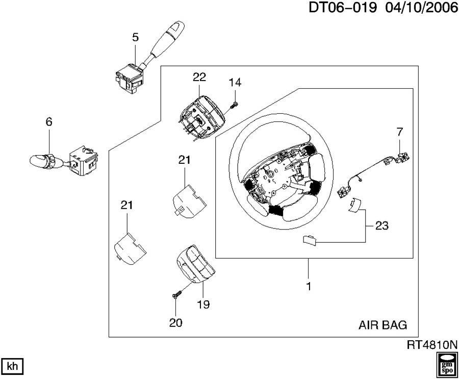 Chevrolet Aveo Wheel  Steering  Wheel  Strg  Wheelstrg  Atransmlqstrg