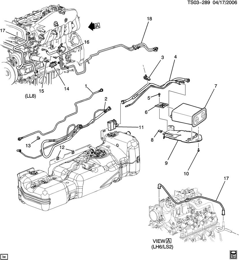 307 V8 Engine Diagram