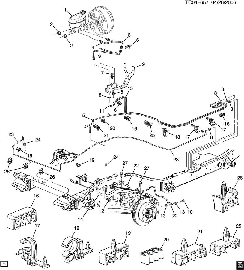 2000 Gmc Sierra 2500 Brake Line Diagram Best Secret Wiring Diagram