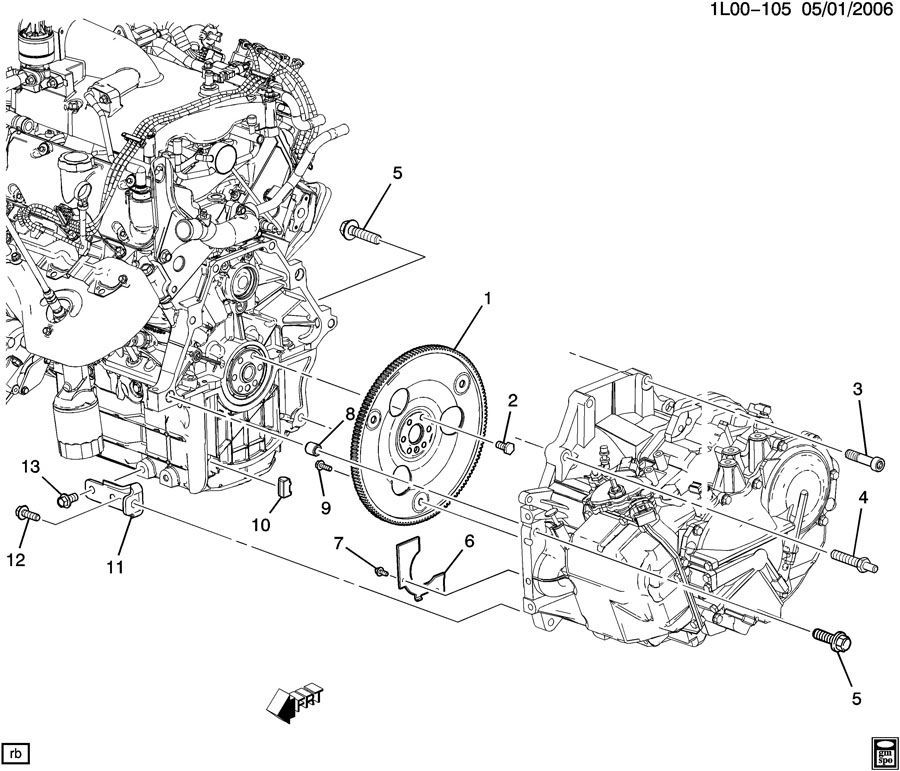 service manual  removing transmission from a 2007 pontiac