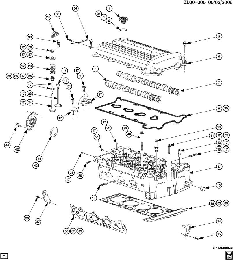 2003 chevy cavalier parts diagram with 1 4l Ecotec Engine Valve Cover on 1839079 Fan Wiring Questions likewise 1 4l Ecotec Engine Valve Cover besides 2002 Escalade Brake Line Diagram as well Assembly Chevy Tahoe Parts List moreover ShowAssembly.
