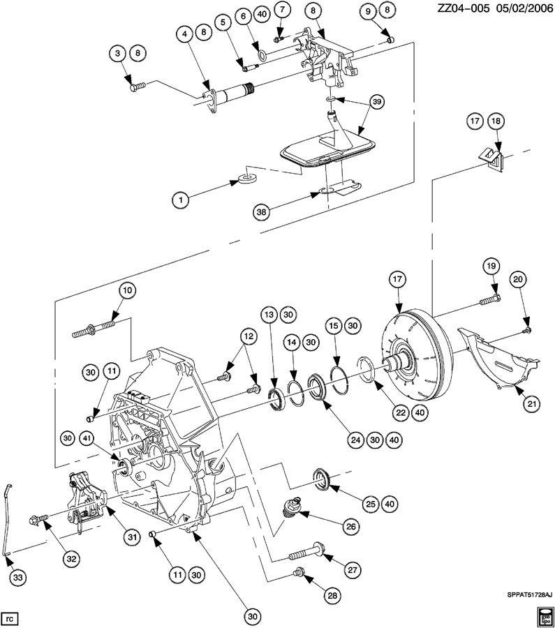 21002755 - Saturn Plug. Transmission case. Plug, trans oil ...