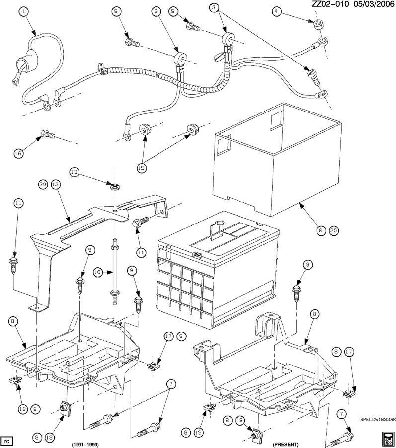 21024040 saturn harness generator harness  gen wrg