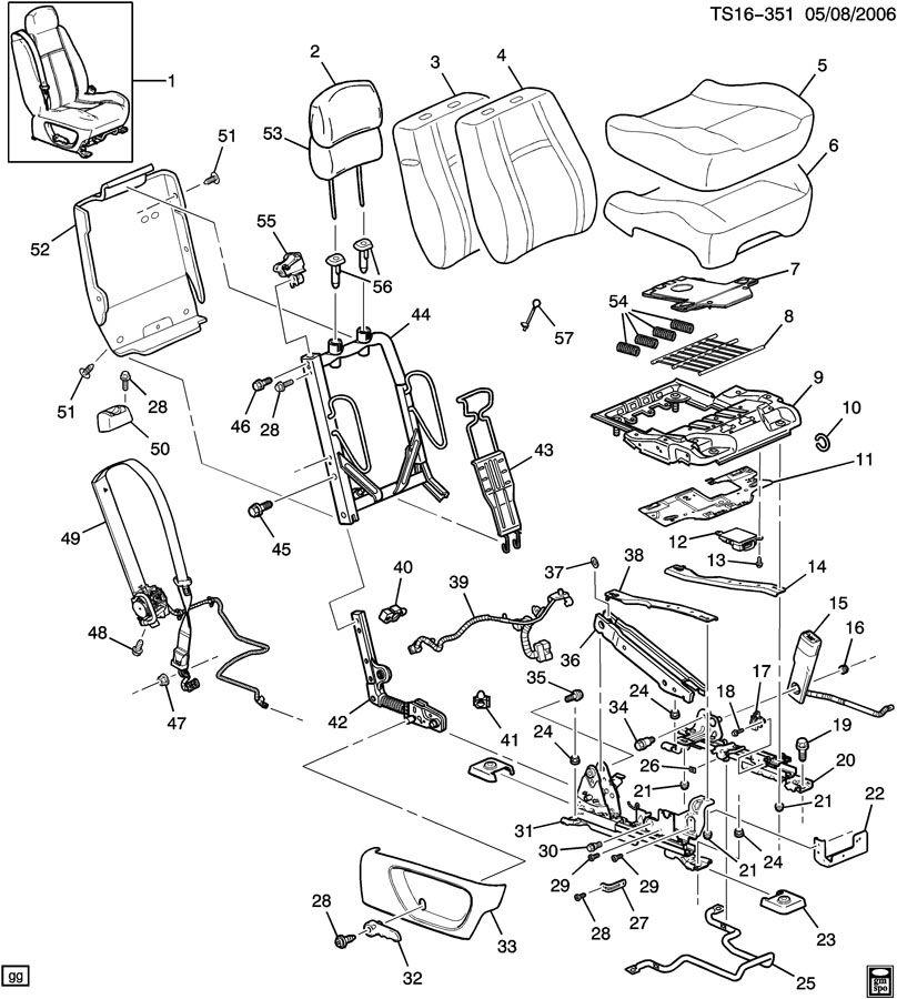 Chevrolet Trailblazer Cover  Seat Cushion  Wswirl  Winsert