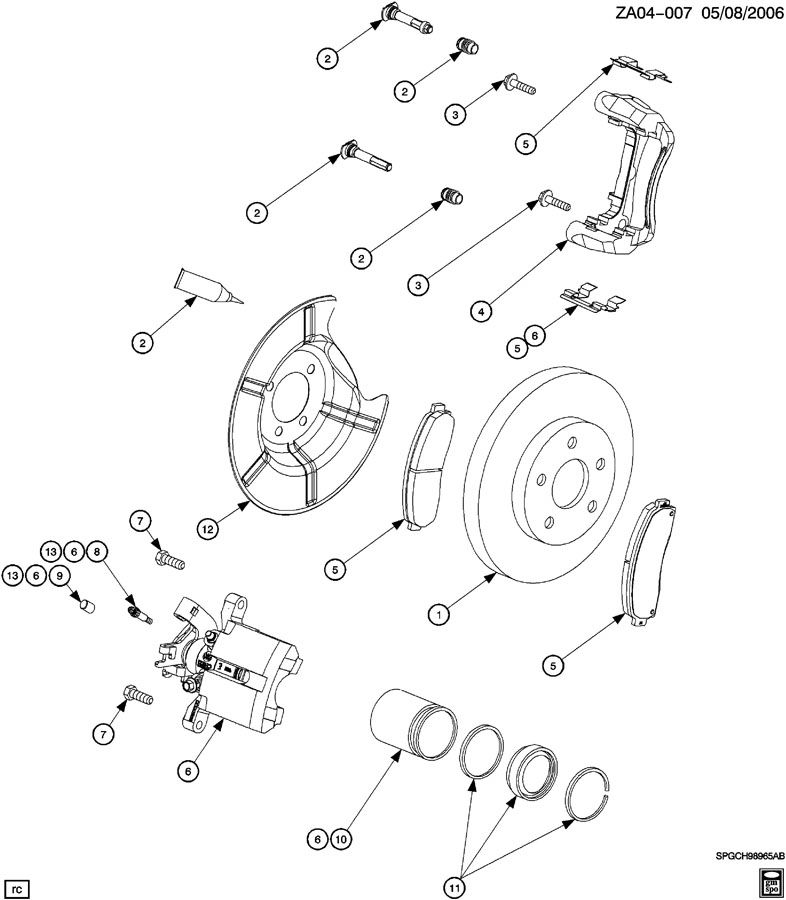 saturn ion front end diagram