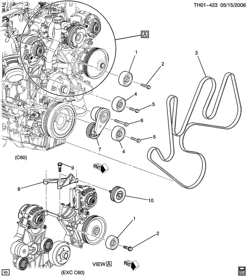 5bl1c Mazda 6 Crankshaft Pulley Broke Mazda 6 Replaced furthermore 2006 Duramax Engine Diagram moreover RepairGuideContent also Serpentine Belt Diagram 2003 2002 Buick Lesabre V6 38 Liter Engine 00817 further Showthread. on 2010 chevy impala serpentine belt diagram
