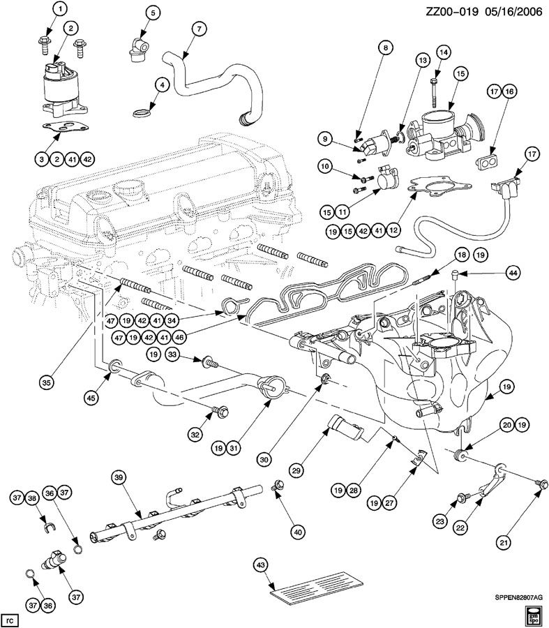 2002 Saturn Vue Belt Diagram