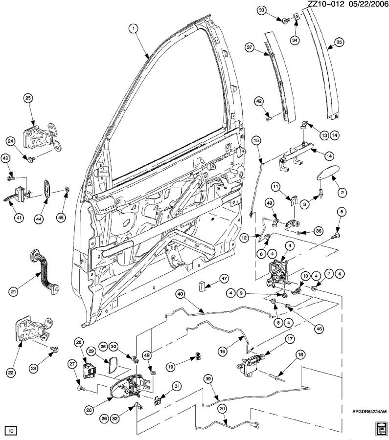 2004 Saturn Vue Power Lock Wiring Diagram