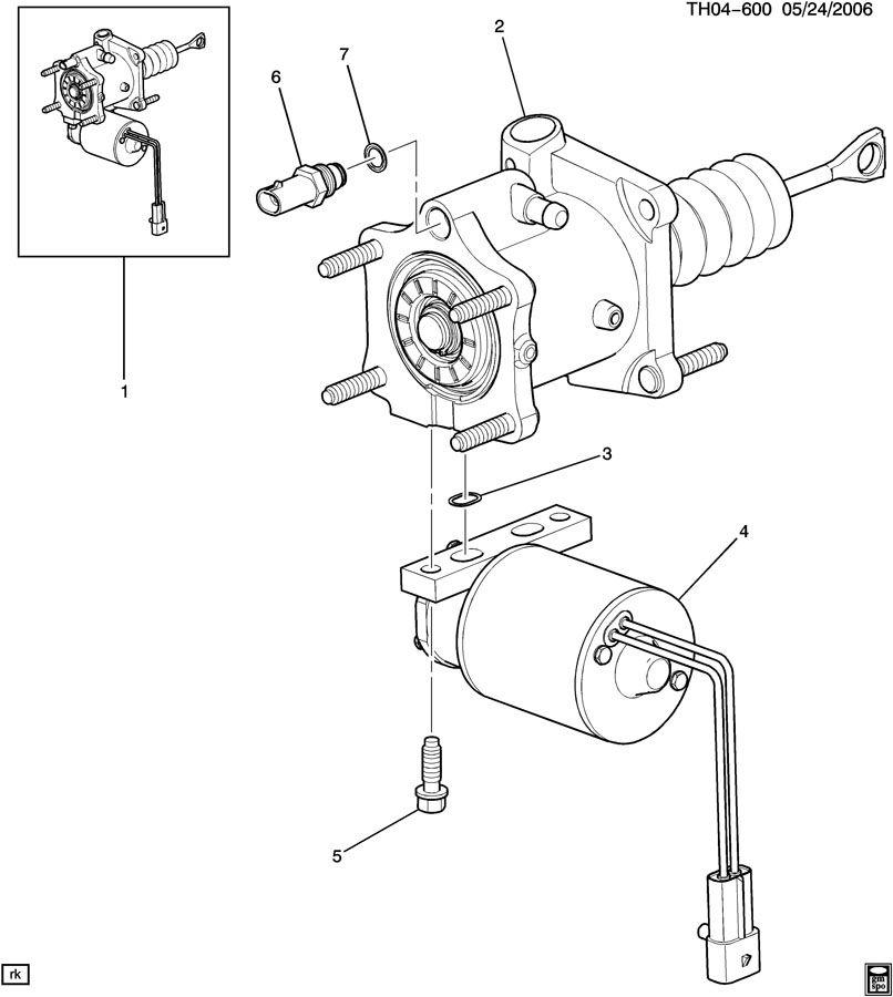 2006 Gmc C7500 Seal  Power Brake Booster  Seal  P  B Boos