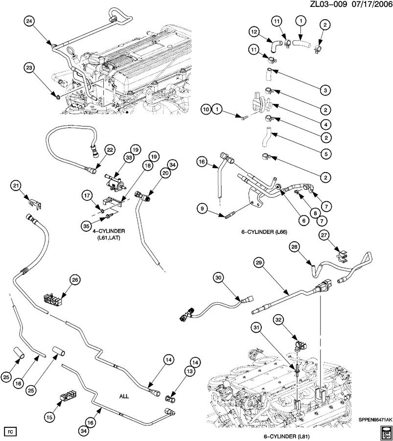 2 2l Dohc Ecotec Engine Diagram Com