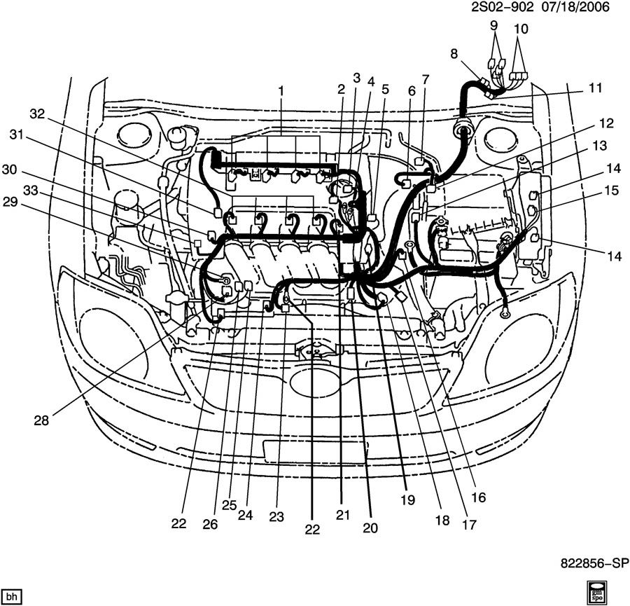 88953311  c  compressor  chassis electrical  computer