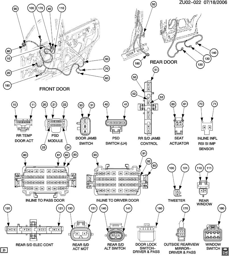 Gmc Acadia Radio Wiring Diagram on 2007 Gmc Sierra Door Parts Diagram