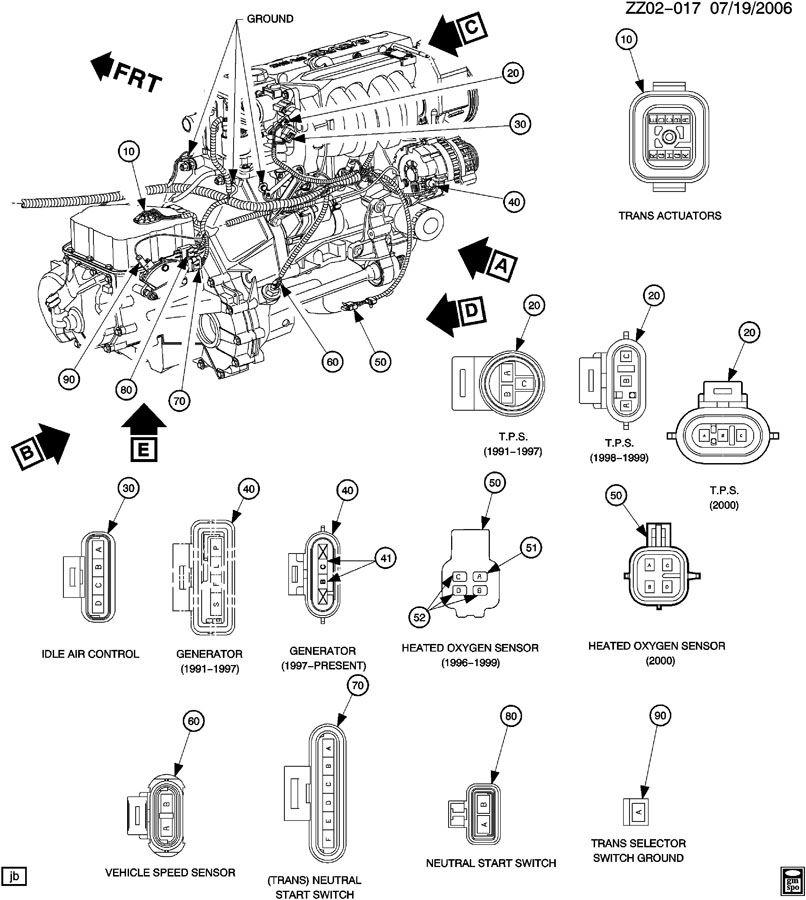 1998 saturn s engine