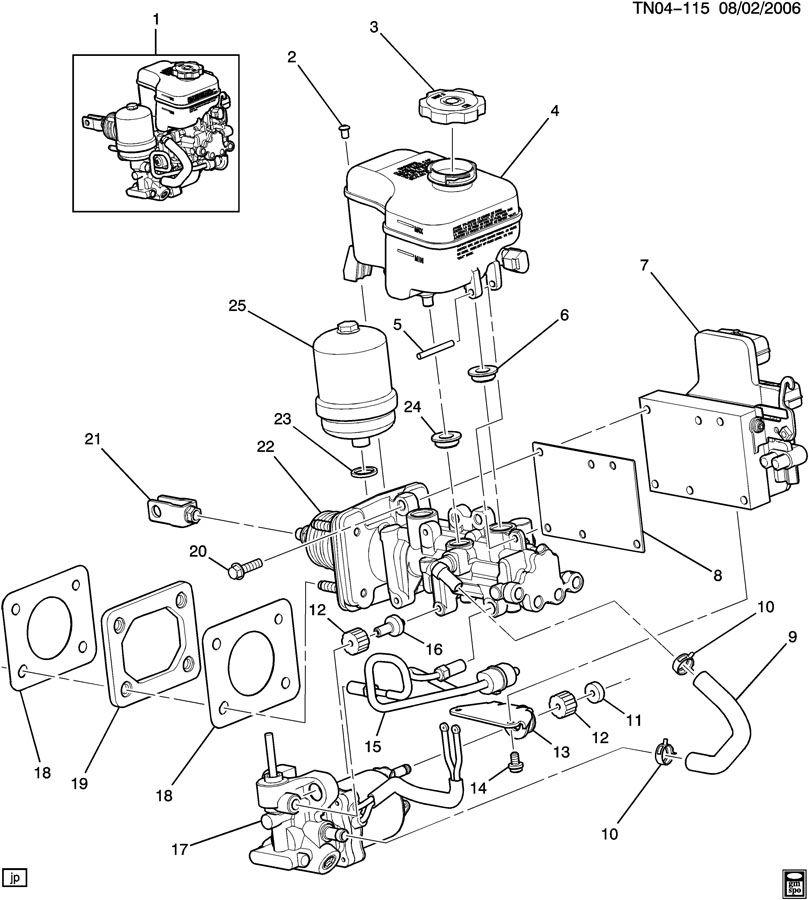 2006 hummer h3 module kit  electronic brake control