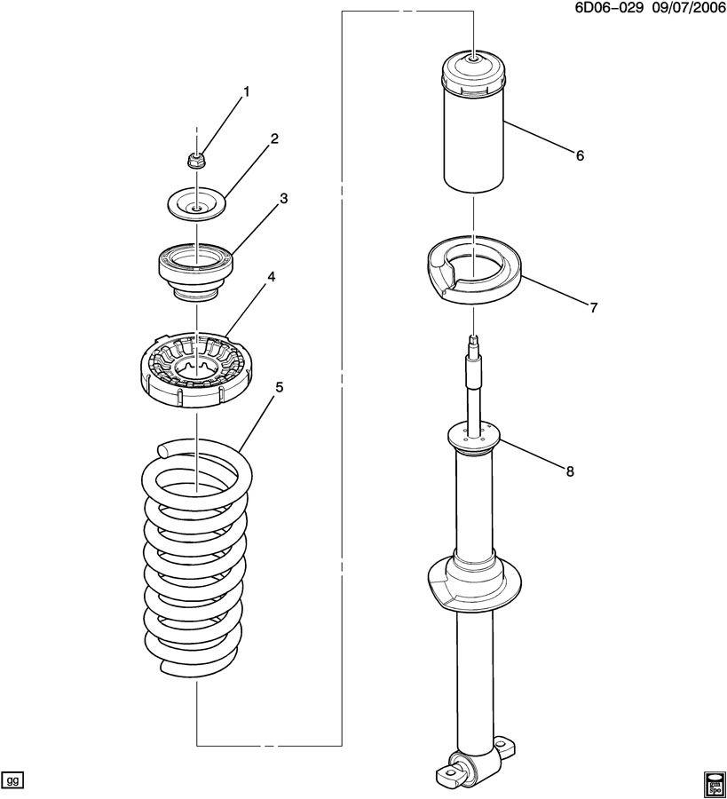 absorber  front shock  u0026 spring