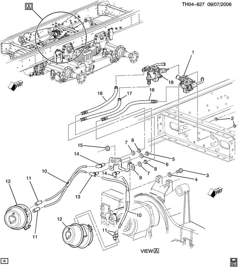 air brake lines rear axle. Black Bedroom Furniture Sets. Home Design Ideas