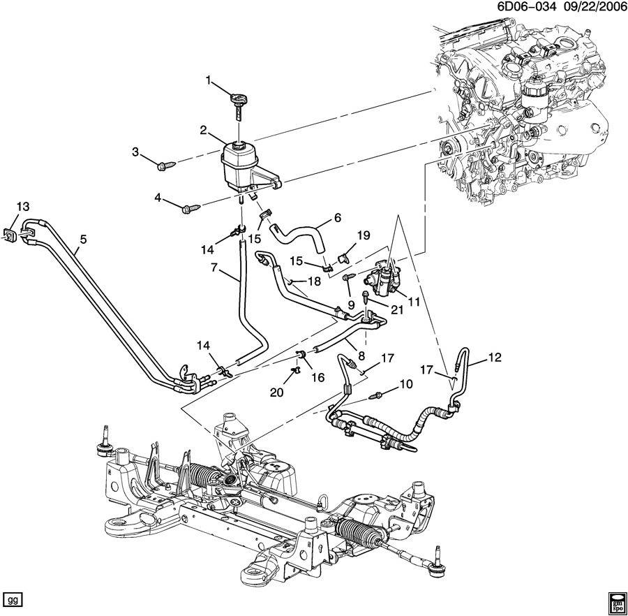 2005 cadillac cooler  power steering fluid  cooler  p  s fluid  coolerps