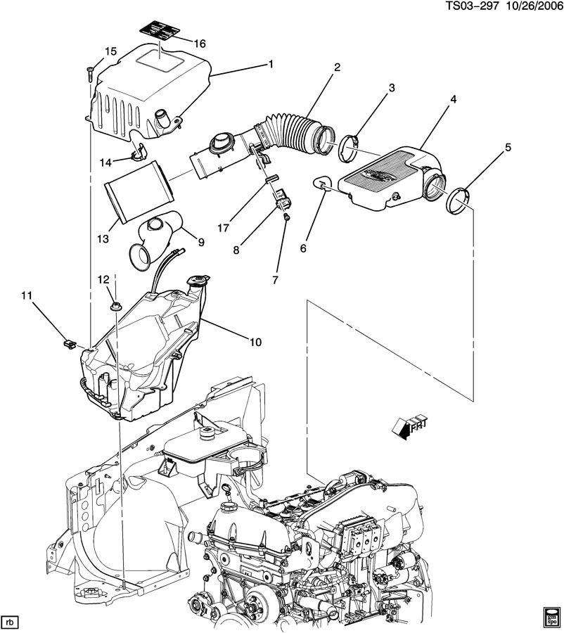 Chevrolet Trailblazer Bolt Air Cleaner To Carb Throttle Manual Guide
