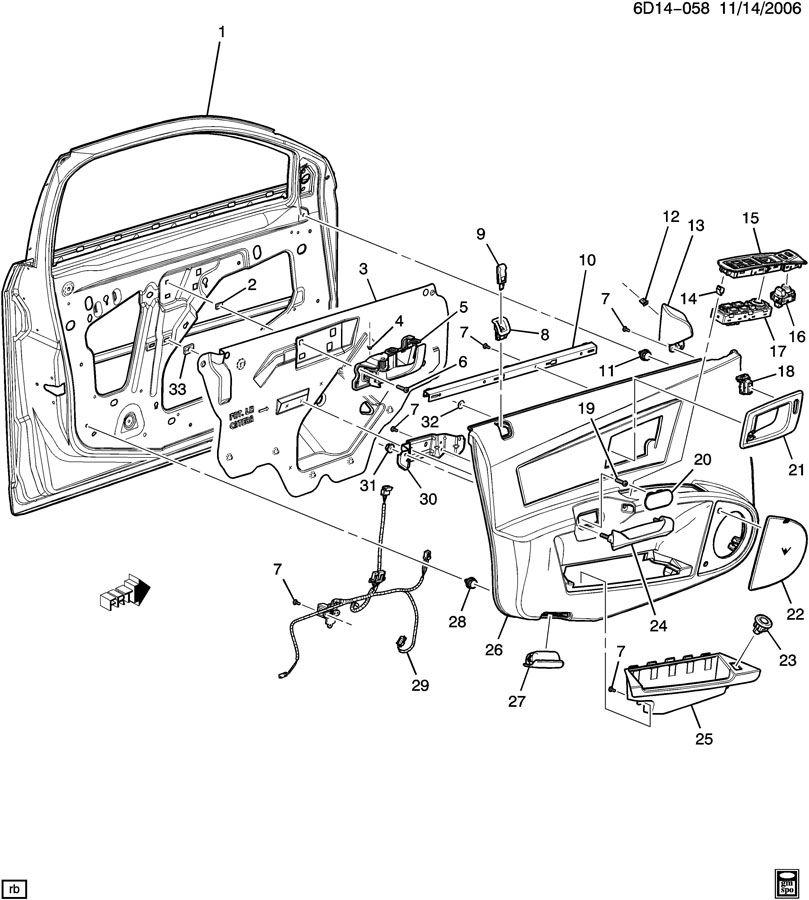 2006 Cadillac Cts Interior Parts Com