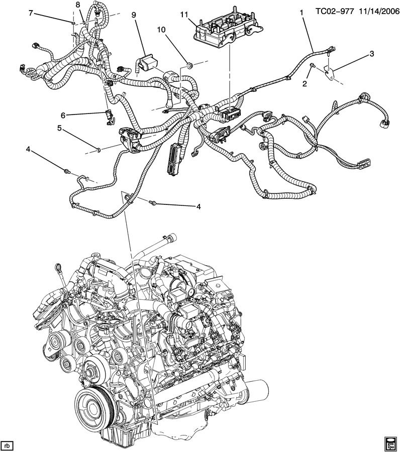 wiring diagram for 2008 gmc acadia
