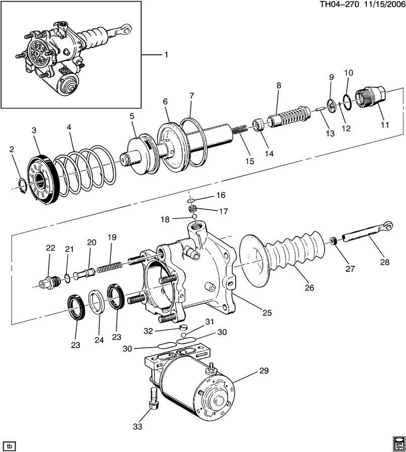 GMC C6500 Switch kit. Hydraulic power brake booster. Kitpb ...