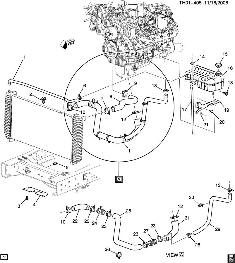 2006 duramax diesel engine diagram