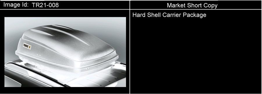 Diagram CARRIER PKG/HARD SHELL for your 1999 Cadillac Seville Base 4DR