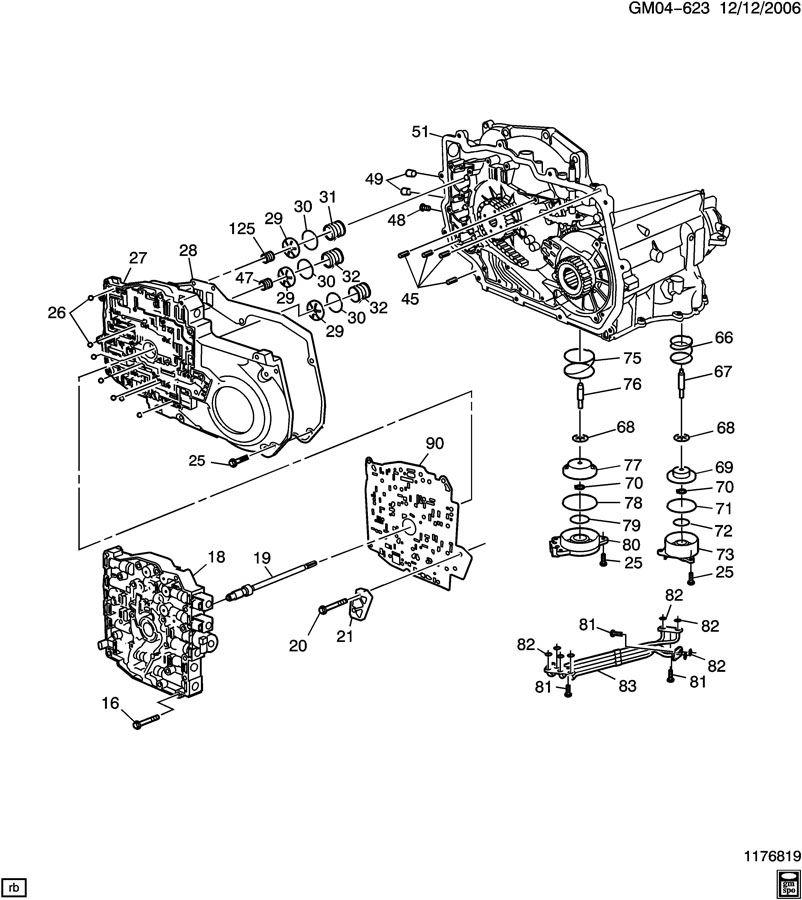 Chevrolet Captiva Gasket  Transmission Case  Transmission
