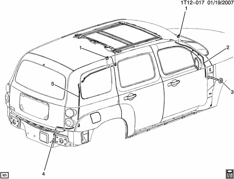 diagram for chevy hhr electrica  diagram  free engine