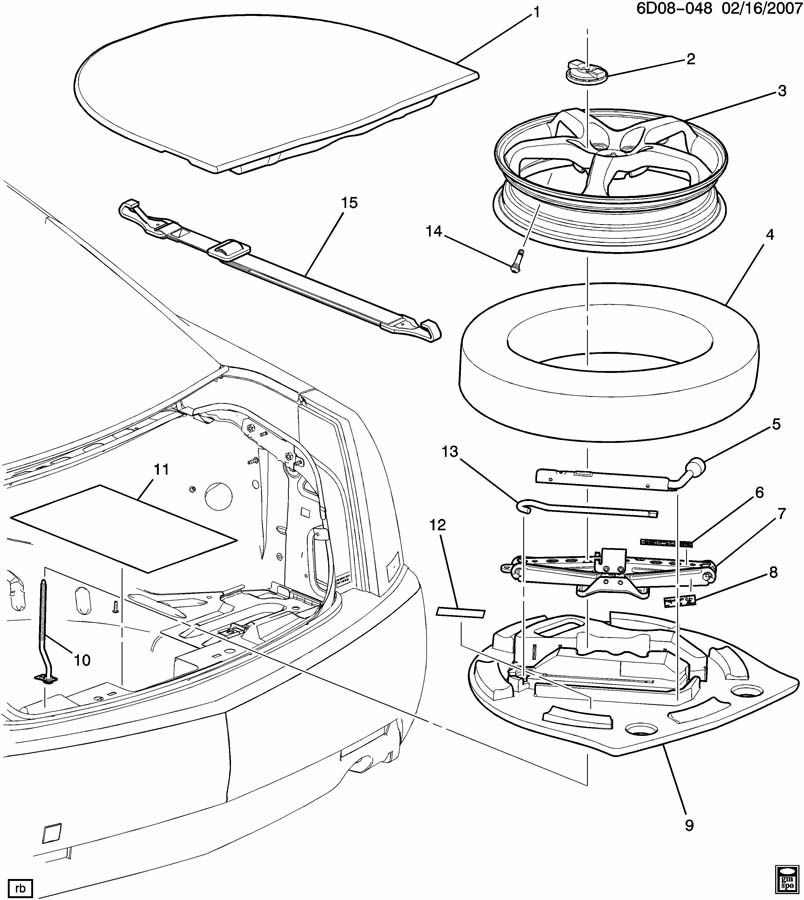 12368971 additionally 13235015 further 2015 Honda Crv Oil Capacity in addition Showassembly together with Showassembly. on chevrolet spare tire kit
