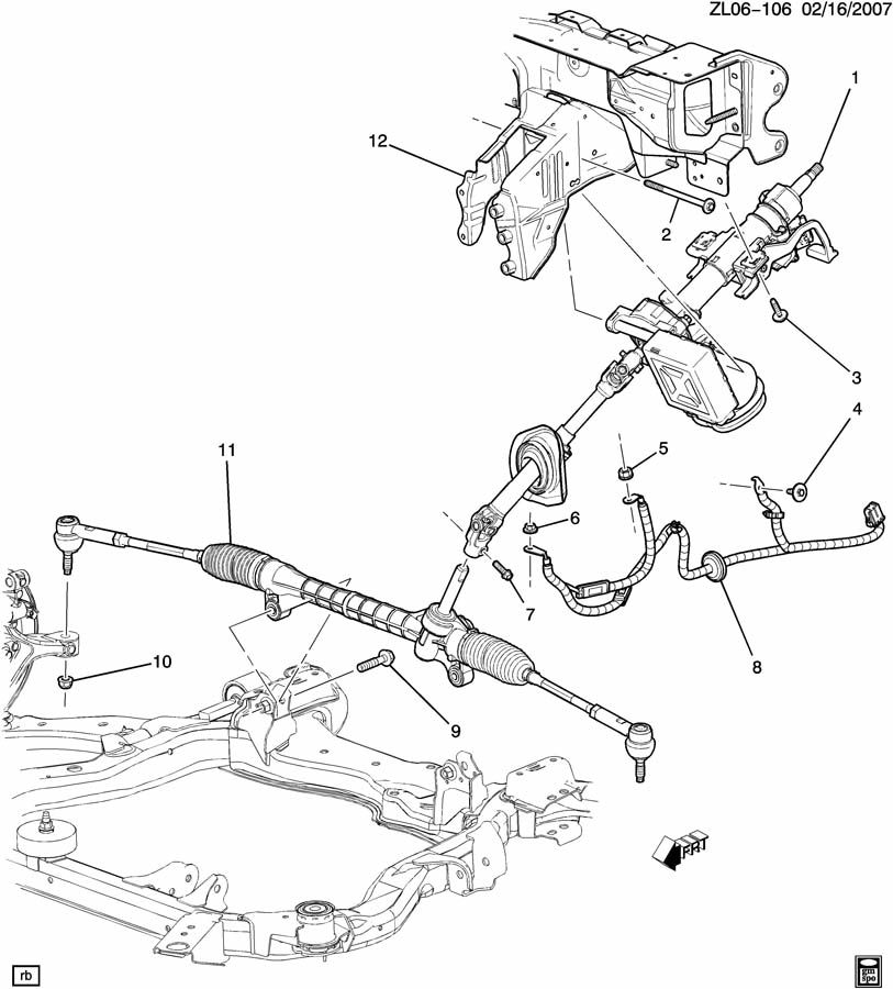 Steering System Amp Related Parts